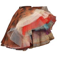 "Vivienne Westwood 'EXPLOSION"" tulle skirt, c. 1993"