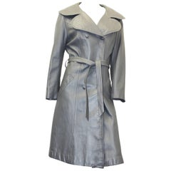 Late 60s Marquis of London Grey Trench Coat