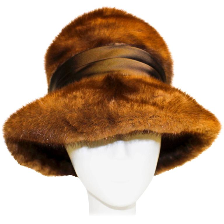 60s Mink Hat  For Sale