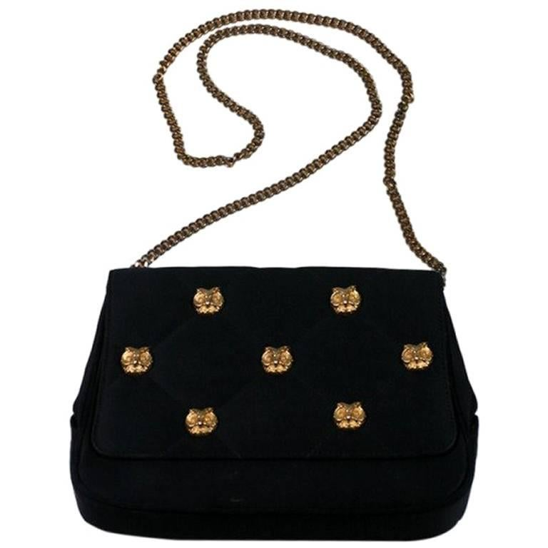 2e09694241b3bb Henri Betrix Quilted Satin Purse For Sale at 1stdibs