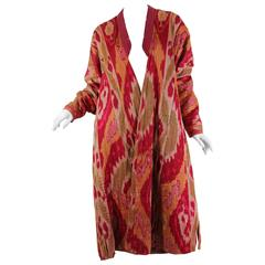 Antique Ikat Coat