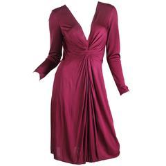 Alexander McQueen Slinky Jersey Dress