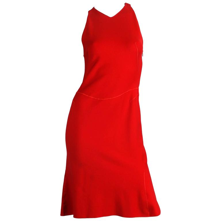 Alaia Dress in very rare to find Red