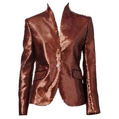 Alexander McQueen Sequined Jacket