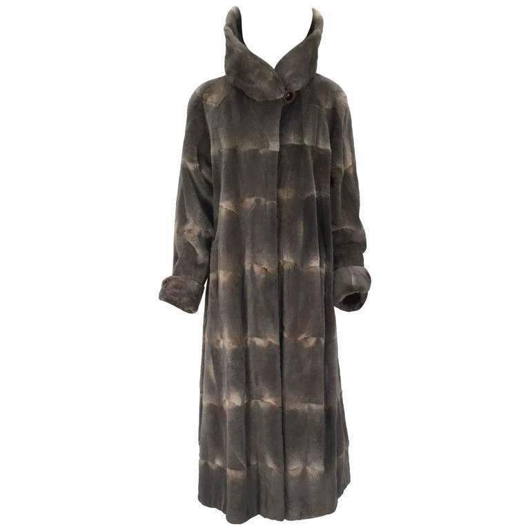 Vintage Maximilian Alta Moda Sheared Mink Coat with Oversized Collar