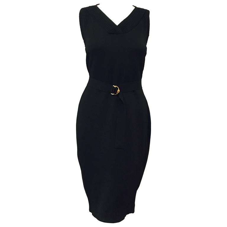 Graceful Gucci Little Black Dress 1
