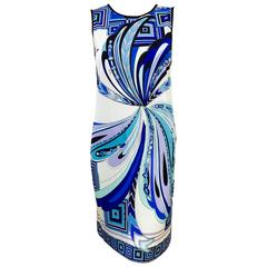 Pulsating Pucci Print Dress
