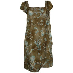 Philosophy di Alberta Ferretti Silk Dress W/T