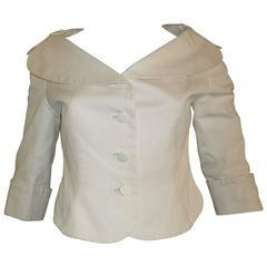 1970s Junko Shimada Cotton Twill Jacket