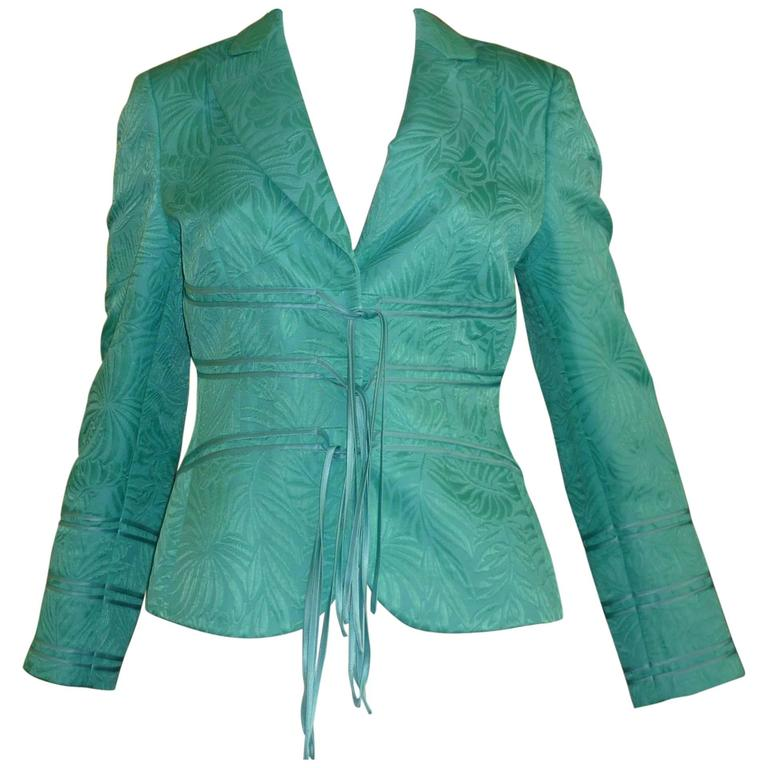 Rena Lange Cotton / Silk Jacket, 1990s