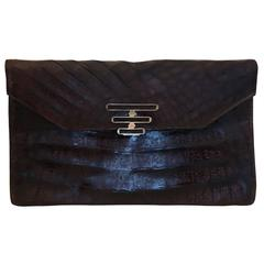 Argentinian Alligator Clutch Handbag