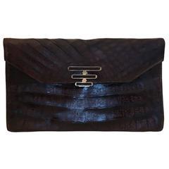 Argentinian Alligator Clutch Handbag