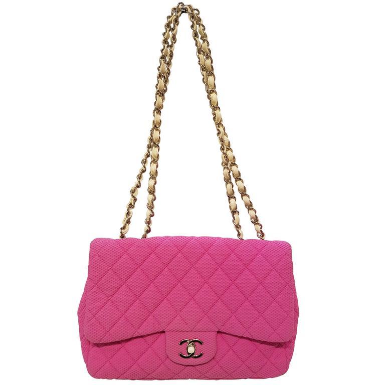 Chanel Fucsia Love Nust shoulder bag