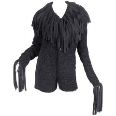 Jean Paul Gaultier Deconstructed and Knit Blazer