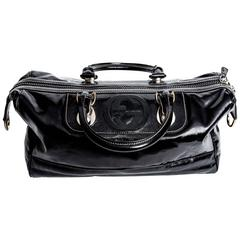 Gucci Snow Glam Limited Edition Leather Satchel