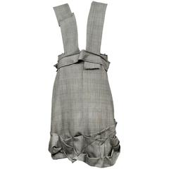 Comme des Garcons Check Jumper Dress