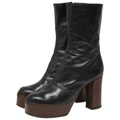 1970's Anonymous Carnaby St. Platform Boots