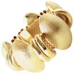 Vintage Stylish Chunky Dome Bracelet