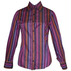Etro Cotton Striped Shirt (42 ITL)