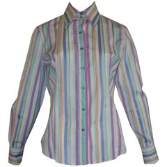 Etro Cotton Striped Shirt (46 ITL)