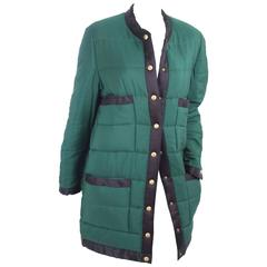 Chanel Quilted Puffer Coat