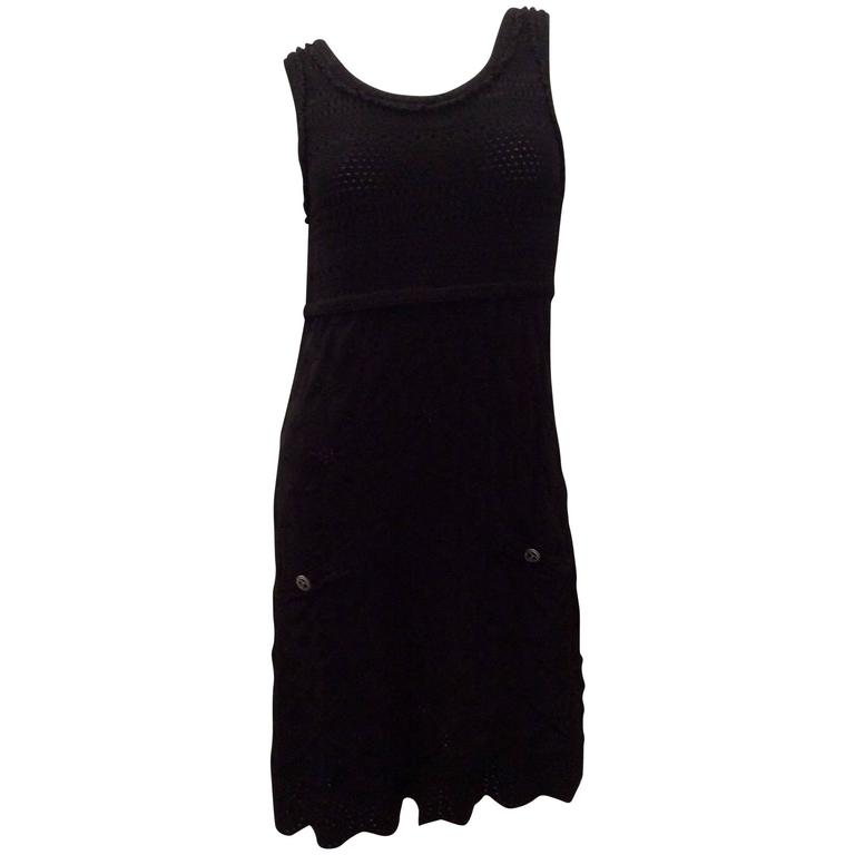 Chanel Black Dress - Size 40
