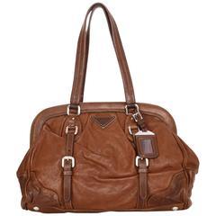 prada 2-way patent lambskin clutch and shoulder bag