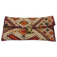 Moroccan Antique Textile Clutch