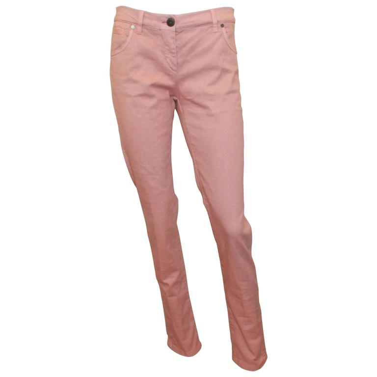 Brunello Cucinelli Blush Cotton Jeans - 6