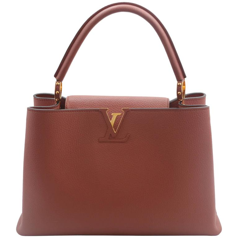 "2016 Louis Vuitton ""Capucines"" MM Handbag 1"