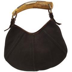 Yves Saint Laurent Mombasa mini textile bag