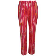 Tom Ford For Gucci Colour Printed Pants