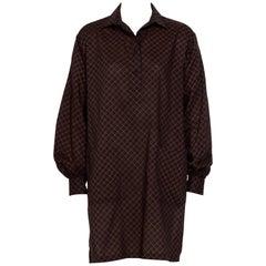 Yves Saint Laurent 1970s Wool Tunic/Blouse