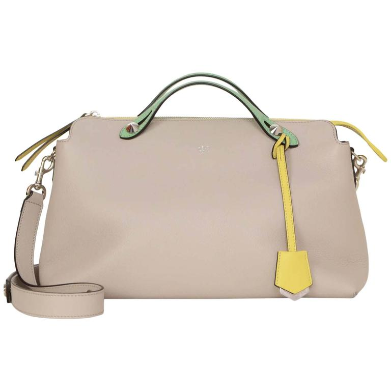 c8c922305cdb Fendi Tri-Color Large By The Way Bag SHW For Sale at 1stdibs