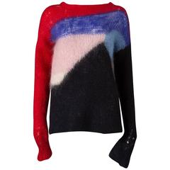 Malcolm McLaren and Vivienne Westwood SEDITIONARIES Mohair Sweater, C. 1976