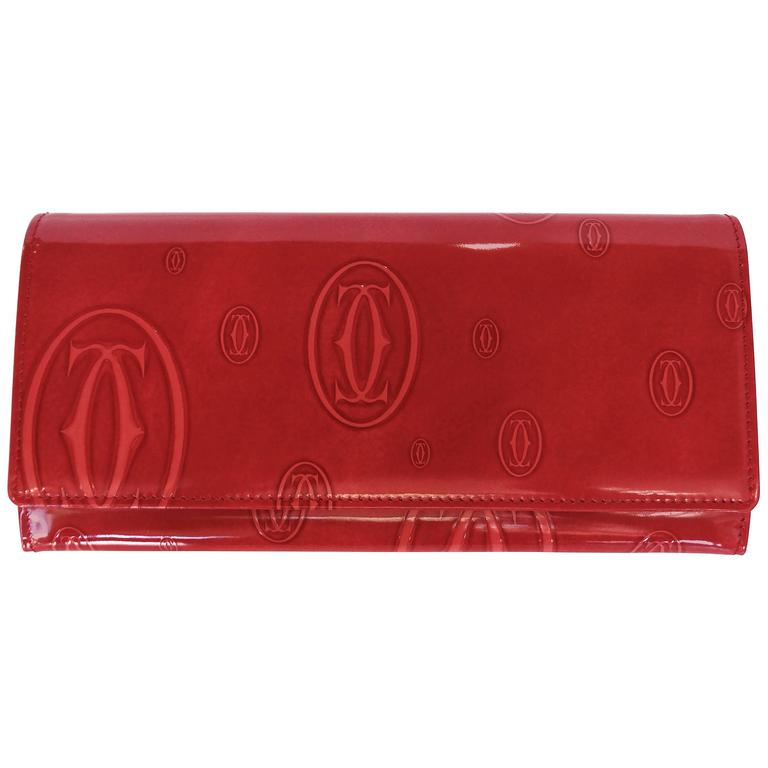 "Cartier ""Happy Birthday"" 6CC International Wallet, 2010"