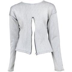 Jean Paul Gaultier Zipper Sweater