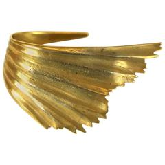 Ted Muehling Fluted Wing Cuff
