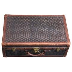 Early Maison Goyard Suitcase