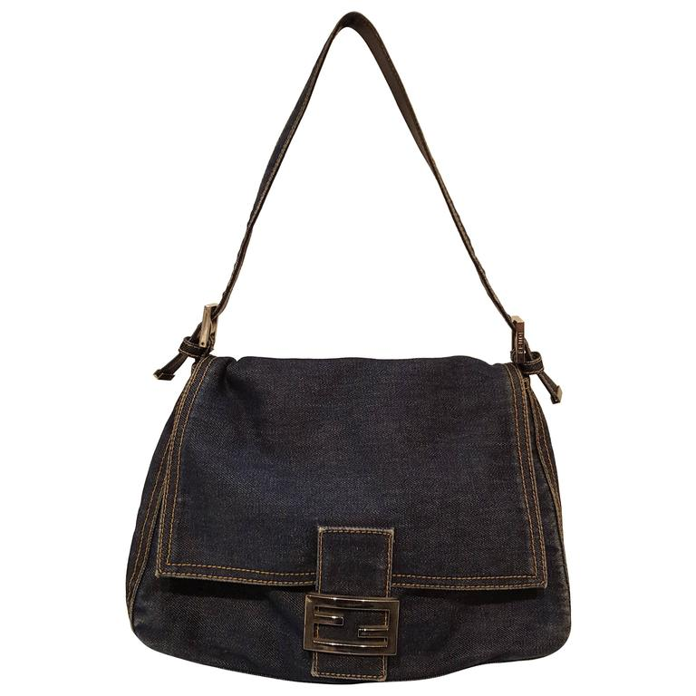 Fendi Denim Bag at 1stdibs 7f407b50c4b3f
