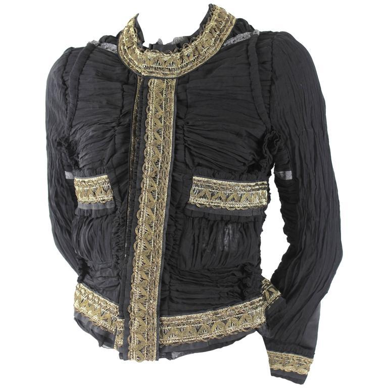 Junya Watanabe AD 2007 Chanel Inspired Jacket