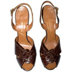 50s Alligator Heels