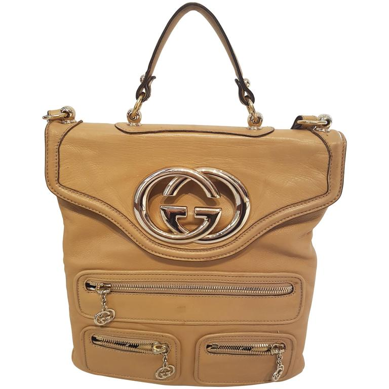 Gucci Beije Britt messanger leather bag
