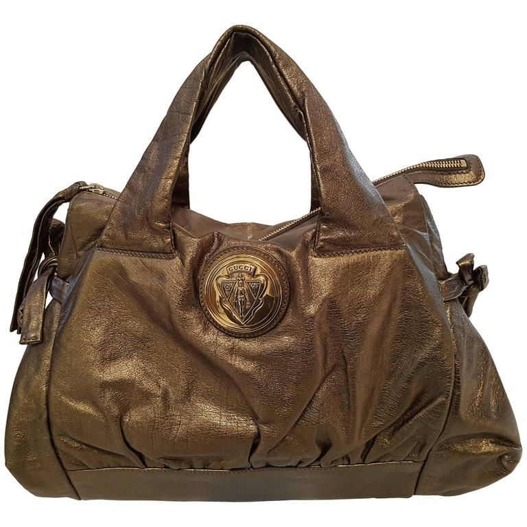 Gucci Bronze Shoulder Bag