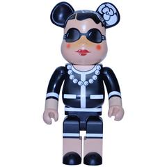 COCO CHANEL Bearbrick Rare Collectible Doll by Medicom For CHANEL