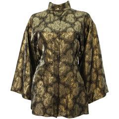 Gianni Versace Lame Evening Jacket /Shirt