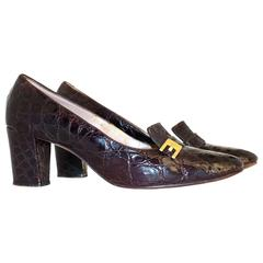 60s Alligator Pumps