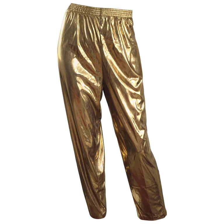 You searched for: gold lamé pants! Etsy is the home to thousands of handmade, vintage, and one-of-a-kind products and gifts related to your search. No matter what you're looking for or where you are in the world, our global marketplace of sellers can help you find unique and affordable options. Let's get started!