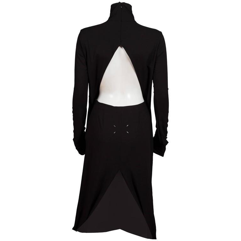 Maison Martin Margiela deconstructed black evening dress, C. 2009
