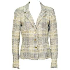 Spring 2005 Chanel Yellow & Grey Jacket